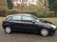 FORD FOCUS GHIA 2002 MOT ALLOYS AIR CON CD PLAYER -VERY NICE DRIVE-WE CAN DELIVER TO YOU