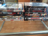 Job Lot of 39 DVDs and 2 Blu Rays