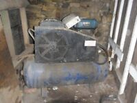 diesel compressor / generator robin dy42 engine which is suburu