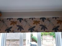 Kitchen / Bathroom Roller Blind (183 mm X 162 mm ) wipeable Polyester