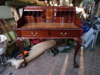 Vintage Mahogany reproduction ladies desk