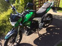 Nice clean bike, reliable, great first bike for someone that's just passed there Cbt at 17