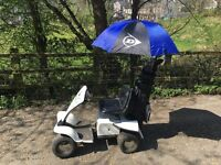 Electric single seater golf buggy
