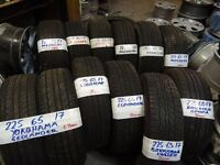 "OPEN SUNDAY TILL 5PM SELECTION OF NEW & ALMOST NEW 17"" 4x4 TYRES MOST SIZES AVAIL TXT SIZE TO 07"