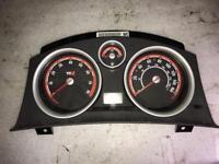 Vauxhall Astra H Mk5 VXR Turbo Speedo Dials Clocks Instrument Cluster