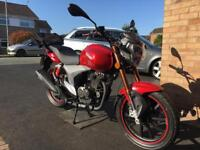 Keeway RKV 125 Motorcycle Bike *Showroom Condition