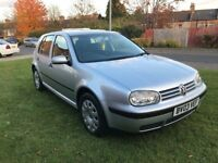 Volkswagen Golf 1.9 Tdi 2003 exceptional service history up to date