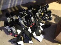 Hockey equipment skates helmets job lot
