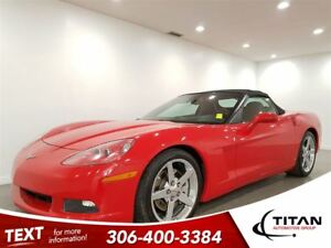 2007 Chevrolet Corvette 3LT|Convertible|Auto|6.0L|400HP|RED