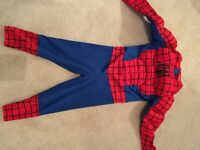 Spider-Man dress up outfit age 3-4