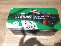 Things Texas Holdem Poker Set