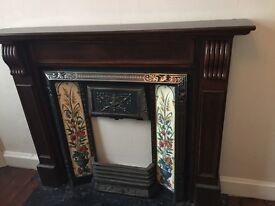 Beautiful Replica Victorian Fire Surround