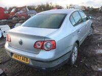 Volkswagen Passat 2007 year 1.9 tdi diesel spare parts available