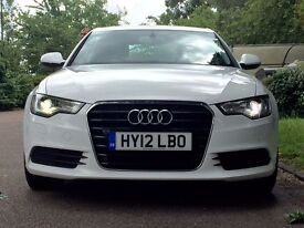 Audi A6 Full service history in white