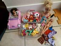 Bundle girls toys