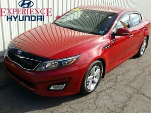 2015 Kia Optima LX LX 6 SPEED EDITION WITH FACTORY WARRANTY AND