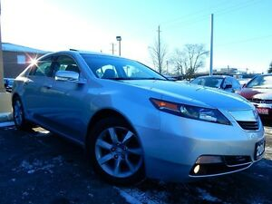 2012 Acura TL PREMIUM | LEATHER.ROOF | ONE OWNER | LEASE RETURN