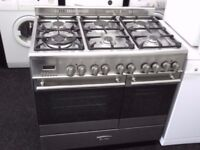 KENWOOD USED DUAL FUEL RANGE COOKER+FREE DEL/INSTALLATION/COLLECTION OF YOUR OLD ONE/3 MTHS GUARANTE
