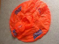 Zoggs Trainer Seat Age 12-18 Months Orange