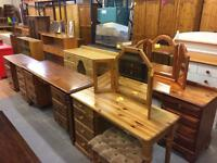 Solid pine / wood dressing tables