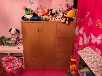 Children's wardrobe/storage/draw/cupboard