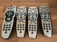 Sky remote controls 4 available