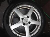 Ford citroen peogout etc ,,,,,, alloys and tyers