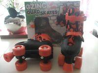 Zinc Quad Roller Skates size 13 - 3