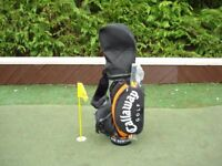 Callaway Fusion FT-3 Tour Golf Bag, c/w Carry Strap and Hood VGC, with new Umbrella