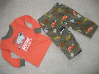 Boy's Pyjamas for 12mths from Carter's. Top brand new, trousers worn once only. Were $15. From NY.