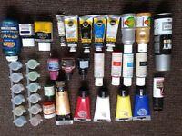Various paints & accessories