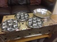 Indian pots and trays