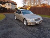 Mercedes-Benz C Class 1.8 C180 Kompressor Classic SE 4dr AUTO mot July Low miles 70k drives great