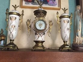 collection of french clocks