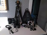 Canon EOS 400D and kit - ready for photo time