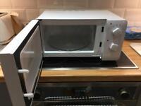 Daewoo white microwave 600w in original box