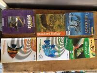 Standard grade biology books. 2017