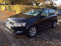 2013 63 PLATE VOLKSWAGEN POLO MATCH EDITION 1.2 BLACK CAT C 38,000 MILES EXCELLENT CONDITION