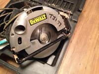 Dewalt circular Saw 110V