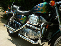 Harley Sportster 883 NEW MOT-Brighton Area Classic Harley-Davidson 883 Hugger