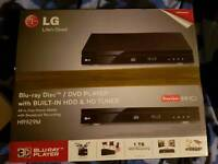 LG Smart 3D Blu Ray/dvd Player And Freeview Recorder 1TB