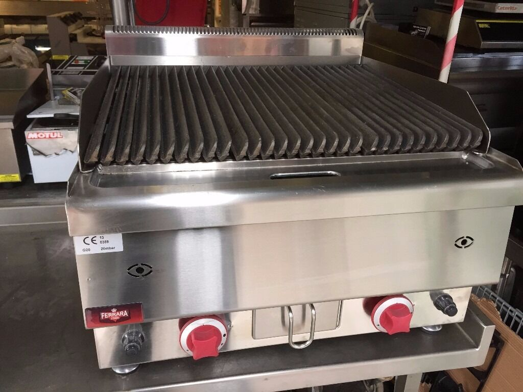 Restaurant Kitchen Grill commercial catering new gas lava stone charcoal grill fast food