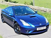 IMMACULATE CONDITION!(2004) TOYOTA CELICA VVTI 1.8 -FULL LEATHER- TOYOTA SERVICE HISTORY - MUST SEE