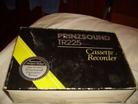 PRICE REDUCED - 1970's cassette player in original box with accessories. £5