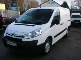 2012 Citroen Dispatch 1000 L1HI HDI Twin SLD In White