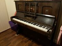 ROGERS LONDON PIANO * DARK WOOD USED CONDITION SOME MARKS