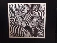 3 zebra prints.