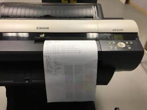 "24"" Canon imagePROGRAF iPF6100 6100 Large Format Graphic Arts Printer Printing Shop Copy Machine REPOSSESSED LIKE NEW"