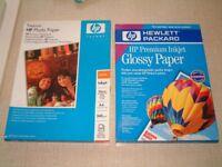HP Photo Paper - A4