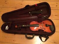 Violin 3/4 size, All included